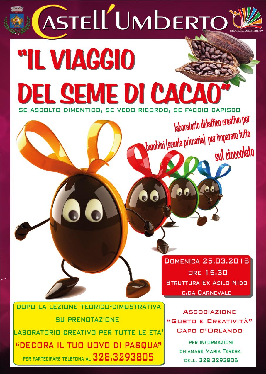 Il Viaggio Del Seme Di Cacao Laboratorio Didattico Creativo Per