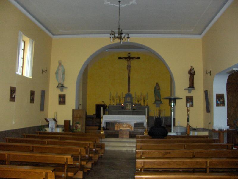 Interno Chiesa Maria SS. Annunziata