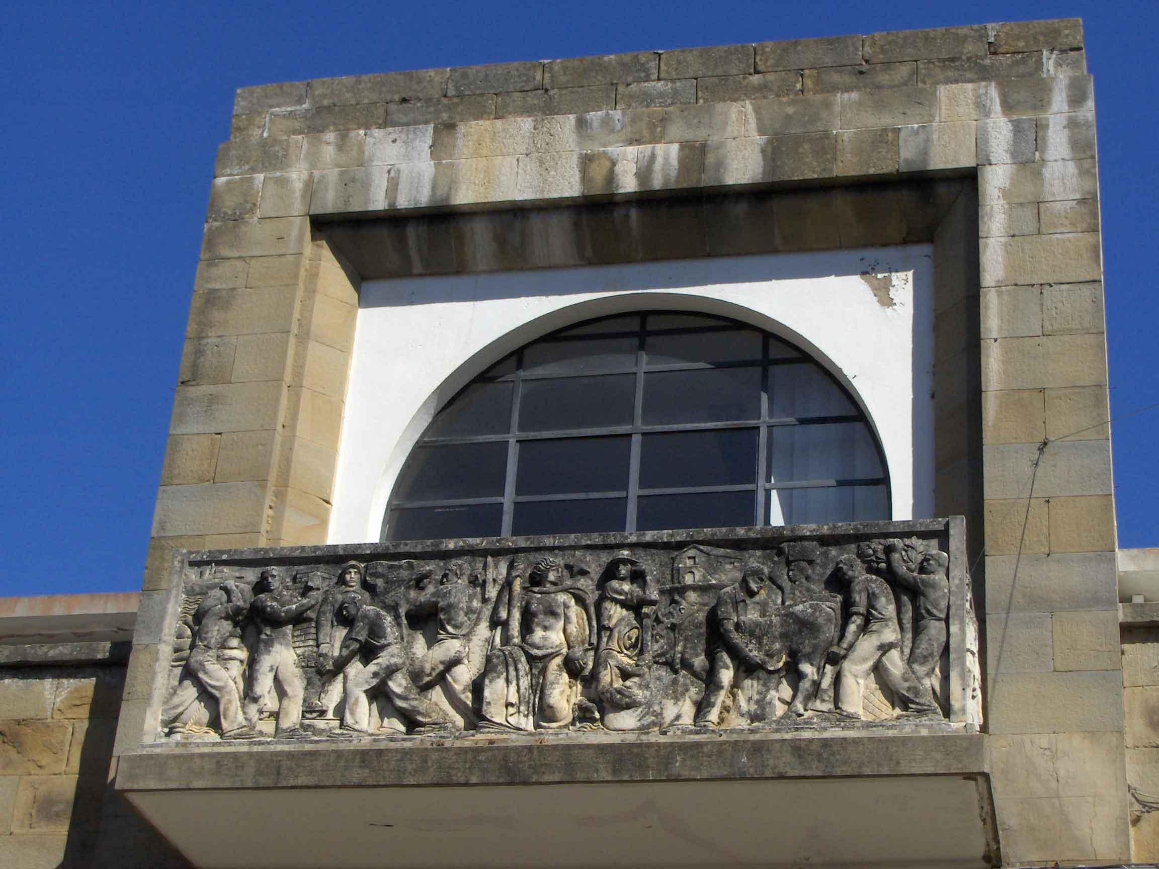 Portale della Casa del Fascio