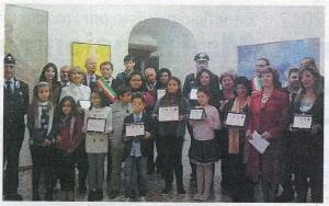 Artisti a Nassisrya foto dei premiati