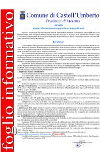 foglio informativo anziani ultrasettantacinquenni non autosufficienti