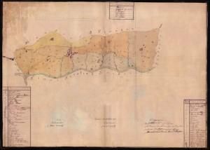 catasto comune di castania 1853