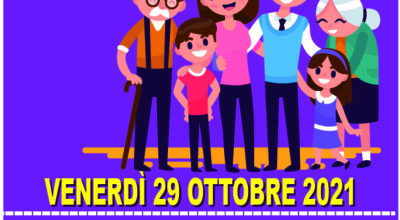 EMERGENZA COVID-19 VENERDÌ 29 OTTOBRE 2021 – ORE 9.00-13.00